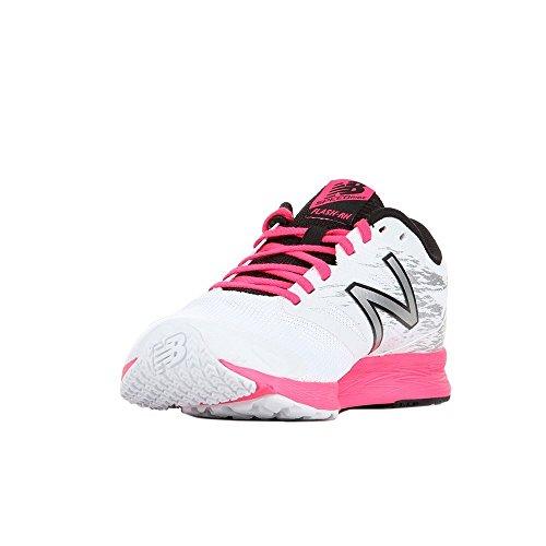 Run Hallenschuhe Flash Pink New Balance V1 Damen qwng4q1f8