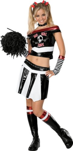 [Bad Sport Teen Cheerleader Costume] (Halloween Costumes Of Cheerleaders)