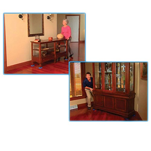Furniture Moving System with Lifter Tool 8 Slides Moving Sliders Tool for Heavy Furniture Saves Your Back by CL FUN (Image #1)