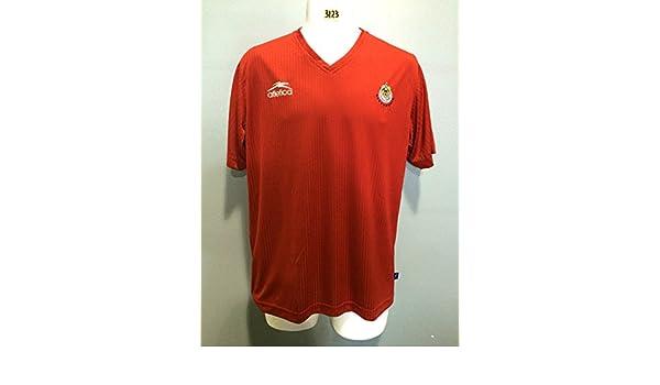 c75bd43621a Amazon.com   Club Chivas de Guadalajara Atletica Jersey seleccion mexicana ( Medium)   Sports   Outdoors