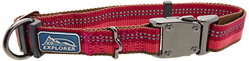 (Coastal Pet Products DCP36923BRY K9 Explorer 1-Inch Dog Collar, Large, Berry )