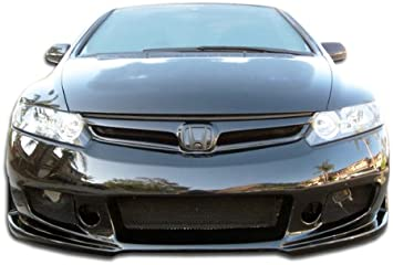 Duraflex Renzo Front Bumper Cover 1 Piece for 2006-2011 Honda Civic 4DR