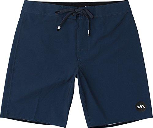 RVCA Men's VA Trunk Boardshort, Neptune Blue, 34