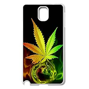 Samsung Galaxy Note 3 Phone Case for Marijuana Leaf grass Classic theme pattern designGMJLGCT875505