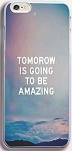Dseason Iphone 6 case, Slim Hard Unique Design tomorrow is going to be amazing