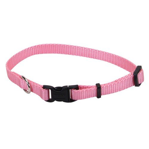 Coastal Pet Products DCP696220PKB Adjustable Dog Collar, 1-Inch, Bright Pink