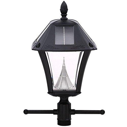 Outdoor Lamp Post Amazon: Gama Sonic Baytown II Solar Outdoor Lamp Post With EZ