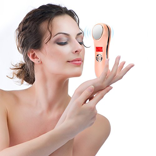 YUSONG Facial Massager Warm Cooling Portable Handheld Face Massage Machine For Skin Firmness Shrink Pores