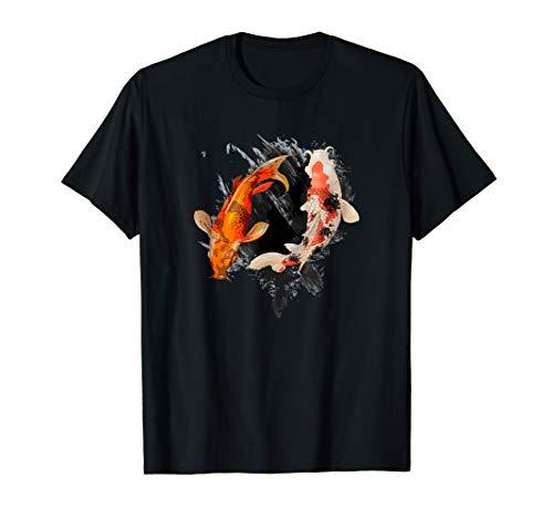 Japanese Koi Fish Shirt I Koi Carp Pond Japan Tattoo
