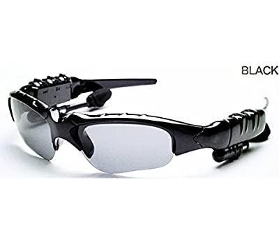 Wireless Music Sunglasses with Stereo Handsfree Bluetooth 4.1 Headset Headphone for iPhone, Samsung , HTC, LG and All Smart Phones or PC Tablets