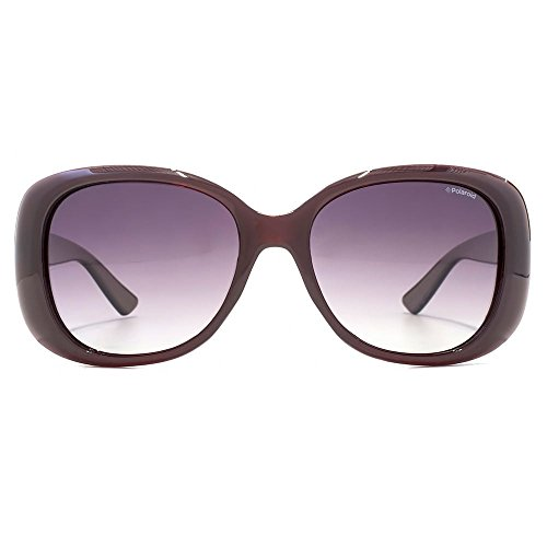 Polaroid Sonnenbrille (PLD 4051/S) Burgundy Gradient Grey Polarised
