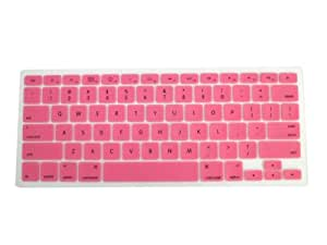 GINOVO Translucent Color Silicone Backlit Keyboard Cover Skin Protector Compatible for Dell New Inspiron N4050 N4110 N4120 M411R M4040 M4110 M421R M521R 5520 3420 3421 5420 5421 7420 7520 Vostro V3350 V3450 V3550 V3560 V1450 V1440 V131 V3460 V2420 V2421 , XPS 15R, NEW 14TR Turbo, NEW 15TR Turbo,XPS L502X,Ins15RR-2518B , New Inspiron 14V 14ZR 14VR 14RR / NEW 14RR / NEW 15RR/ 14R (Floating keyboard) (Pink)