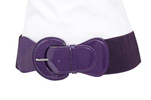Purple Stud Belt - 7