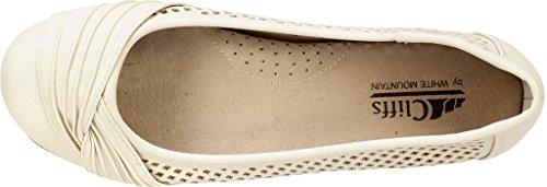Zapato Cerrada Mujeres Bajo Mountain Punta Harlyn Cream Talla de White Smooth Metedera O6XRwS