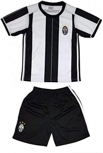 Genérico - Conjunto de camiseta y pantalón corto de turín para niño, color negro, color Negro , tamaño 10 años: Amazon.es: Ropa y accesorios
