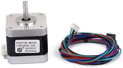 UEETEK Nema 17 2 Fase Motor Paso a Paso para Impresora 3D, 4-cable ...