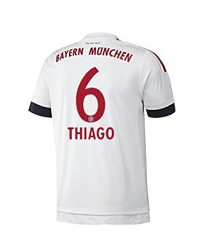 FC BAYERN MÜNCHEN AWAY TRIKOT 2015 16 - THIAGO
