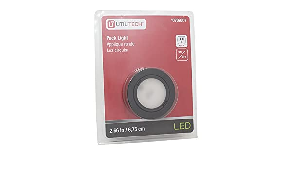 Utilitech 266 in plug in puck light amazon mozeypictures Images