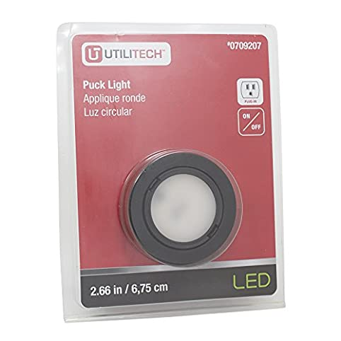 Utilitech 266 in plug in puck light amazon utilitech 266 in plug in puck light mozeypictures Choice Image