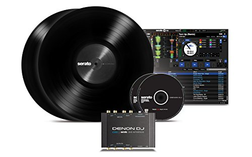 Denon DJ DS1 | Pocket-Sized Digital Vinyl Audio Interface with full Serato DJ Pro & Serato DVS download (2-channel/24-bit/96kHz)