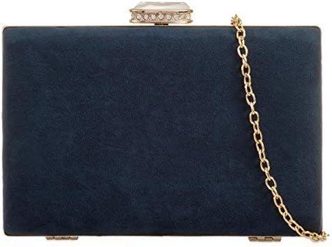 Purple Possum® Navy Clutch Bag Hard Compact Style Evening