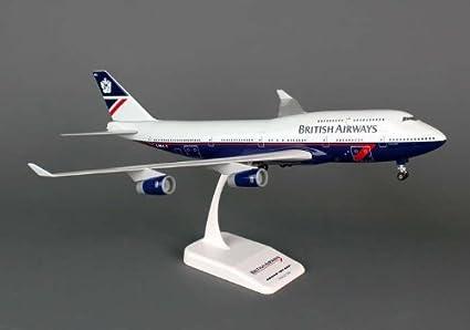 Amazon.com: Skymarks skr702 British Airways BOEING 747 – 400 ...