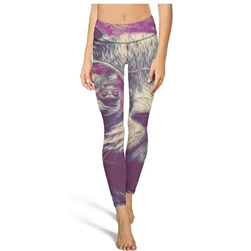 Trippy Cat Women Girls Yoga Pants Soft Elastic Hot Yoga -