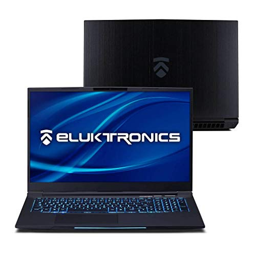 "Eluktronics MECH-17 G1Rx Slim & Light NVIDIA GeForce RTX 2070 Gaming Laptop with Mechanical RGB Keyboard - Intel i7-9750H CPU 8GB GDDR6 VR Ready GPU 17.3"" 144Hz Full HD IPS 2TB NVMe SSD + 64GB RAM"