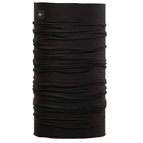 Turtle Fur - Comfort Shell Totally Tubular Lightweight Multi-Functional Headwear, Black - Micro Fur Stretch Tube