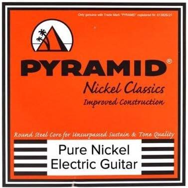 Pyramid - Cuerdas para guitarra eléctrica (níquel puro): Amazon.es ...