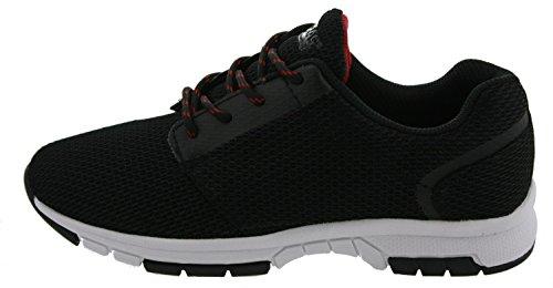 Boras Shadow Sneaker Freizeit Schuh Sport Outdoor Fitness Schnürer schwarz 41 0xVofWw