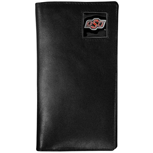 NCAA Oklahoma State Cowboys Tall Leather Wallet