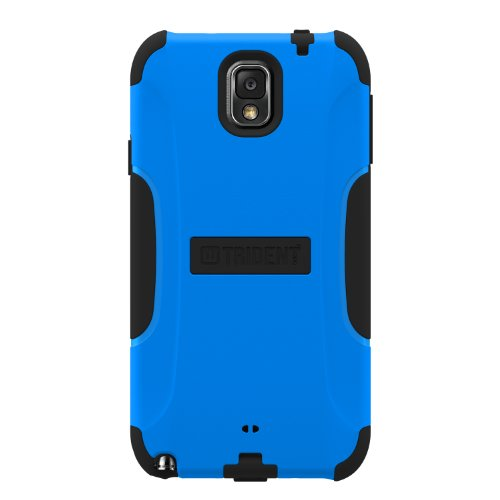 Trident Aegis Series Case for Samsung Galaxy Note III - Retail Packaging - Blue