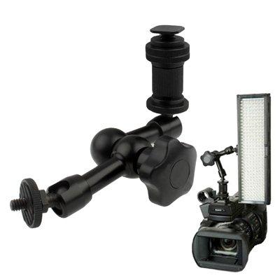 Hdslr Clamp (7 inch Articulating Magic Arm Compatible DSLR Camera Flashlight/LED Light/LCD Monitor)