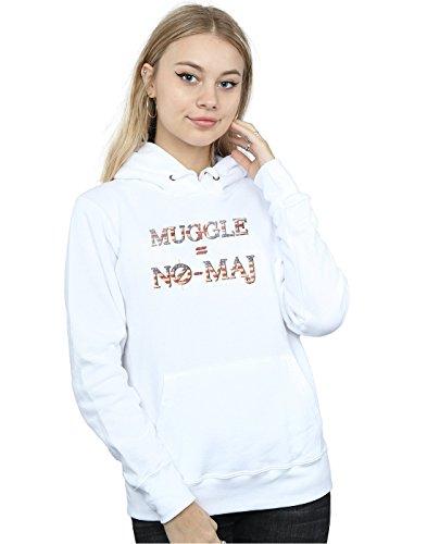 Cult Maj Blanco No Mujer Fantastic Beasts Absolute Muggle Capucha 4naPd
