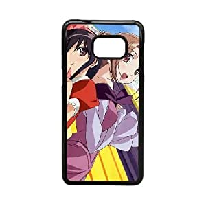 Generic Fashion Hard Back Case Cover Fit for Samsung Galaxy Note 5 Edge S6 Edge+ Cell Phone Case black Shakugan no Shana NUR-1726753