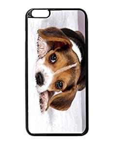 """Best Beagle Puppies Pattern Image Protective iphone 6 Plus (5.5"""") Case Cover Hard Plastic Case For iPhone 6 Plus - 5.5 Inches"""