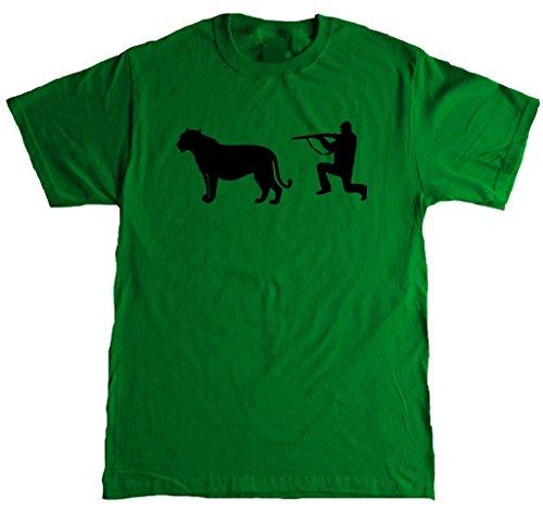 Adult Cougar Hunter Funny T-Shirt - -