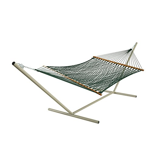 Pawley's Island Large Original DuraCord Green Rope Hammock with ()