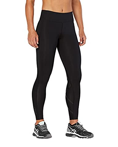 fb0986201e 2XU Womens mid-Rise Print Compression Tights W/Storage, Black D Dots/