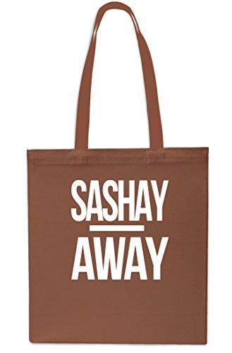 Sashay Away Tote Shopping Gym Beach Bag 42cm x38cm, 10 litres-Black Chestnut