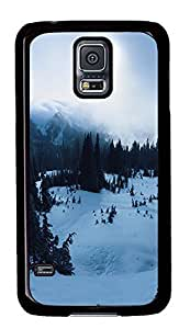 Samsung Galaxy S5 landscapes nature snow 8 PC Custom Samsung Galaxy S5 Case Cover Black