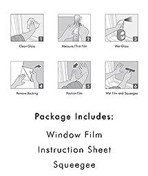 Artscape Wisteria Window Film 24\