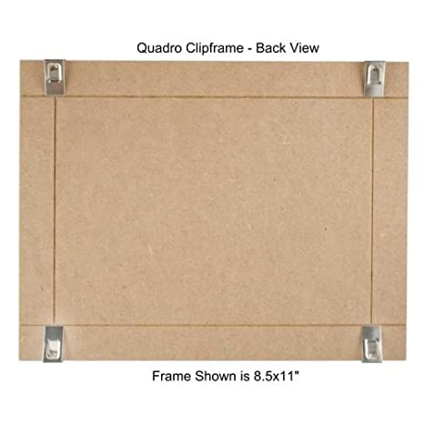 Box of 12 Quadro Frames Quadro Clip Frame 8.5x11 inch Borderless Frame