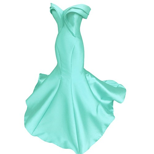 Fluorodine Women's Pleat Sweetheart Long Mermaid Evening Gown Prom Dress US10 Tifanny