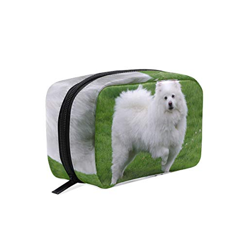 n Eskimo Dog Picture Womens Beauty Makeup Case Brush Cosmetic Organizer ()