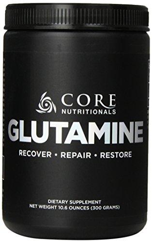 Core Nutritionals Glutamine Dietary Supplement, 300 Gram