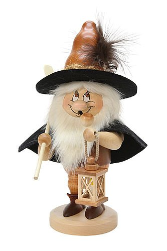 German Incense Smoker Nightwatchman - 33,0 cm / 13 inch - Christian Ulbricht by Authentic German Erzgebirge Handcraft