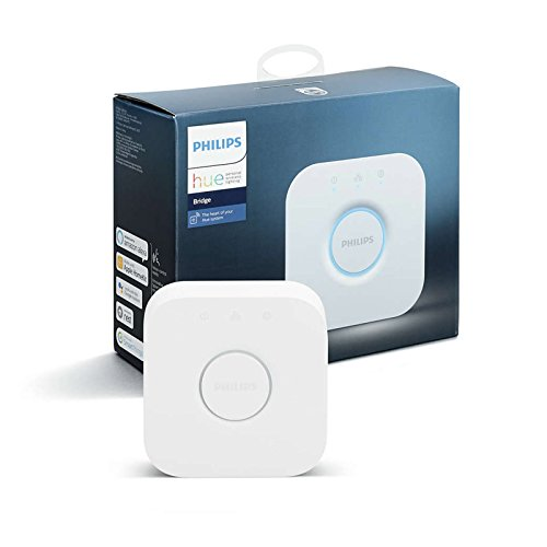 Philips Hue Smart Bridge - 2nd Generation, Latest Model - Works with Alexa, Apple HomeKit and Google Assistant (Certified Refurbished)