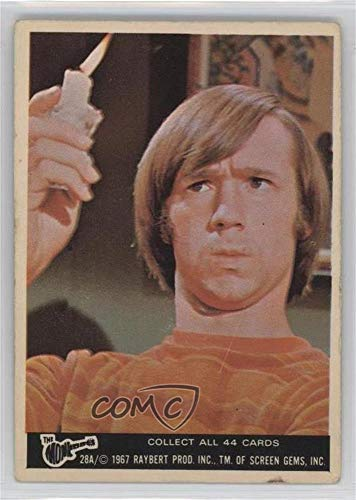 Peter Tork Ungraded COMC Good to VG-EX (Trading Card) 1967 Donruss The Monkees Color Series A - [Base] #28A ()